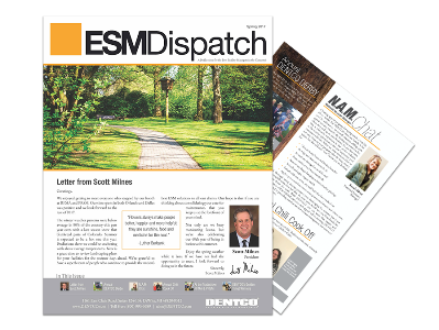 Spring 2017 ESM DENTCO Newsletter
