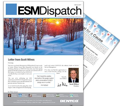 Winter ESM Newsletter 2017 For DENTCO